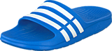 Adidas Sport Performance - Duramo Slide K Bahia Blue/White