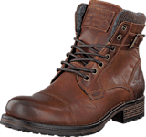 Mustang - 4865605 Men's Lace Ancle Boot Chestnut