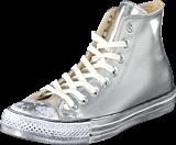 Converse - All Star-Hi Silver/White/Black