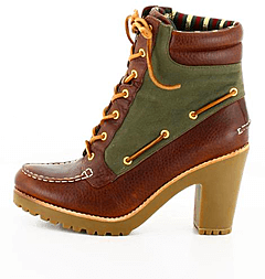 Sperry Topsider - Lug Heel Bt Brown