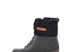 Wrangler - Rusty Mountain Black Oiled Suede