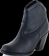 Gardenia - Short Boot 2962 Crazy Horse Black