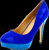 Sugarfree Shoes - Lesley Blue