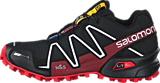 Salomon - Spikecross 3 CS Black/Radiant.R/Wh
