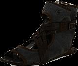 Wrangler - Cher Plainting Dark Brown Leather