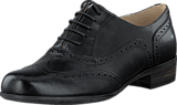 Clarks - Hamble Oak Black Leather