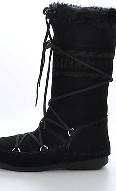 Moon Boot - Butter Black
