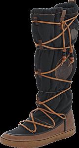 Svea - Idre 8  Black Nylon , Leather