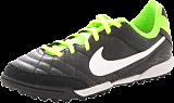 Nike - Jr Tiempo Natural IV LTR TF BLACK-WHITE