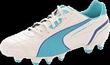 Puma - Momentta FG WN'S Metallic White/Blue