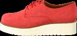 Shoe Biz - Nubuck Coral Shoe Plateau Coral
