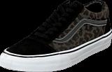 Vans - U Old Skool Waxed Leopard