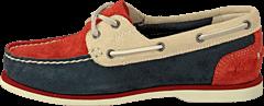 Timberland - EK Classic Unlined Boat Shoe Nautical Suede