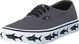 Vans - Authentic (Sidewall) sharks/tornado