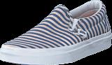 Vans - Classic Slip-On (Stripes) Navy