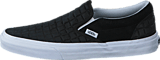 Vans - Classic Slip-On (Suede Checkers) black