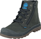 Palladium - Pampa Hi WATERPROOF Kids Black