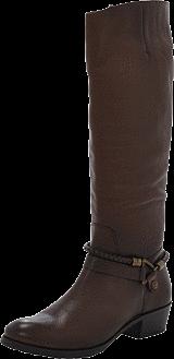 Marc O'Polo - Flat Heel Long Boot Tumbled Calf Chestnut