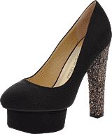 Sugarfree Shoes - Marica Black / Glitter