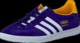 adidas Originals - Gazelle Og W Dark Purple/White/Gold