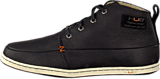 Hub Footwear - Subway Leather/Wool Black