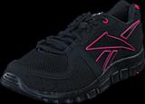 Reebok - Yourflex Run 4.0 Black/Candy Pink