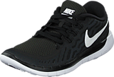 Nike - Nike Free 5.0 (Gs) Black/White-Dark Grey-Cl Grey