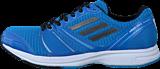 adidas Sport Performance - Adizero Ace 6 M Solar Blue/Carbon Met/White