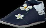 Bobux - Navy Daisy Navy