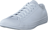 Converse - Chuck Taylor All Star Ox Leather White Monochrome