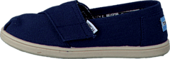 Toms - Tiny Classics Navy Canvas