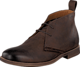 Clarks - Novato Mid Brown Leather