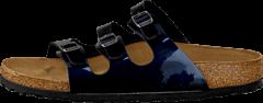 Birkenstock - Florida Slim Steel Blue