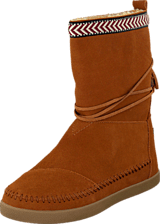 Toms - Suede Trim Womens Nepal Boot Chestnut