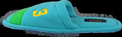 Ralph Lauren Junior - Womens Rugby Stripe Cuff Turquoise