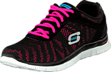 Skechers - First glance Black/pink