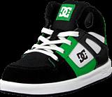 DC Shoes - Toddl. Rebound Ul Shoe Black/White/Emerald