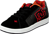 DC Shoes - Kids Net Se Shoe Black/Red/White
