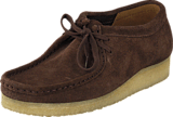 Clarks - Wallabee Dark Brown Suede