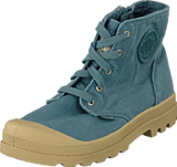 Palladium - Pampa Hi Zipper Kids Nordic Blue