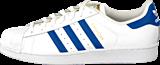 adidas Originals - Superstar Foundation White/Collegiate Royal