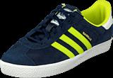 adidas Originals - Gazelle 2 Jr Navy/Yellow/White