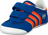 adidas Originals - Dragon L2W Crib Royal/Orange/White