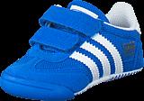 adidas Originals - Dragon L2W Crib Bluebird/Ftwr White/Bluebird