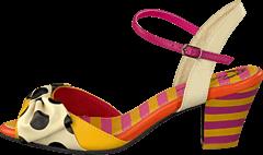 Lola Ramona - Elsie 411611-71 Yellow/creme/pink