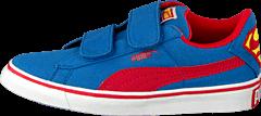 Puma - Puma S Vulc Cvs Superman Kids Strong Blue-High Risk Red