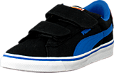 Puma - Puma S Vulc Cvs Superman Kids Black-Strong Blue-Buttercup