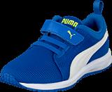 Puma - Carson Runner V Kids Strong Blue-White