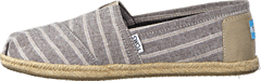 Toms - Seasonal Classics Brown Metallic Stripe