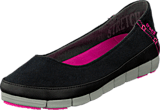 Crocs - Stretch Sole Flat W Black